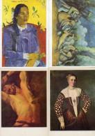 Lot De 23 Cartes Postalessur Le Theme De L Art (lot U3) - Cartoline