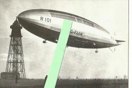 Cpm Dirigeable R-101 , à Son Mat D'amarrage Cardington - Bedford