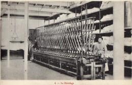 CALAIS     Industrie Tulliere - Le Devidage - Calais