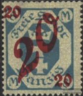 Gdansk 107 Unmounted Mint / Never Hinged 1922 Supplementary Issue - Danzig