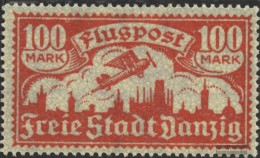 Gdansk 135 Unmounted Mint / Never Hinged 1923 Airmail - Danzig