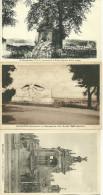 28 CPA Chateaudun  3 Cartes Defense Fontaine Monument Aux Morts - Chateaudun