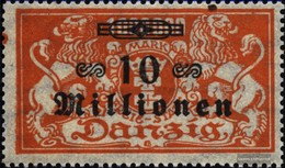 Gdansk Mi.-number.: 168 Unmounted Mint / Never Hinged 1923 Supplementary Issue - Danzig