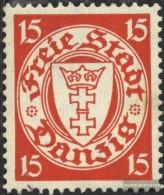 Gdansk 293x Fine Used / Cancelled 1938 Postage Stamp, WZ 5 - Danzig