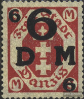 Gdansk D25b Unmounted Mint / Never Hinged 1922 Official Stamp - Danzig