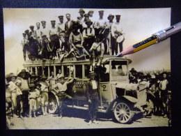 POSTAL  AÑO 1900 AUTOBUS DE SAN CARLOS / AMPOSTA / TORTOSA - POSTAL BUS YEAR 1900 SAN CARLOS / AMPOSTA / TORTOSA - Autobús & Autocar