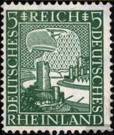 German Empire 372 With Hinge 1925 Rheinland - Deutschland