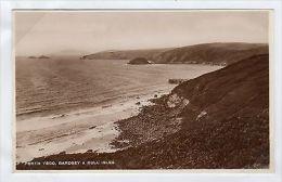 WALES-ISLANDS: PICTURE POSTCARD OF BARDSEY (S22357). - Caernarvonshire