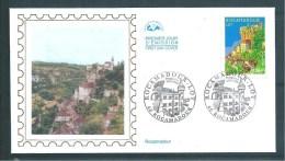 France Premier Jour   N°3492  Rocamadour  25/5/2002 - Documents Of Postal Services
