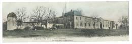 St-GERMAIN-DU-PUCH (Gironde) - Rare Vue Panoramique Du Château Jonqueyres - PH. AUDY Propriétaires - Carte Double - France