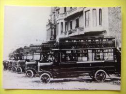 POSTAL 1929 COMPAÑIA GENERAL DE AUTOBUSES DE BARCELONA C.G.A. PRESENTACION Modelo TILLING STEVENS - Autobús & Autocar