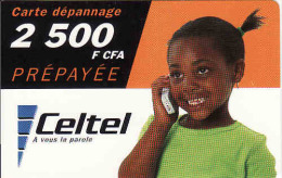 Burkina Faso, Celtel 2500 F CFA - Burkina Faso