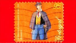 PORTOGALLO - Usato - 1999 - Professioni Del XIX Secolo - Cocchiere - Coachman - Boleeiro - 95 - Usati