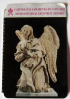 VATICAN 2015, TICKET ENTRANCE MUSEUM TRESAURY SAIN PETER BASILICS IN ROME   Used - Tickets - Entradas