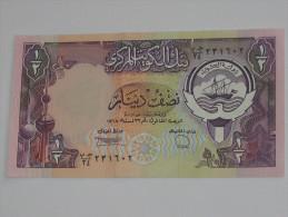1/2 , Half  Dinar - KOWEIT - Central Bank Of Kuwait **** EN ACHAT IMMEDIAT **** - Koweït