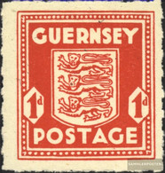 Guernsey (German.cast.2.world.) 2 Unmounted Mint / Never Hinged 1941 Postage Stamp - Occupation 1938-45