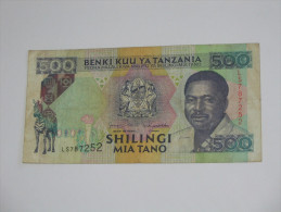 500, Mia Tano Shiligi 1993 Benki Kuu Ya TANZANIA **** EN ACHAT IMMEDIAT **** - Tanzania