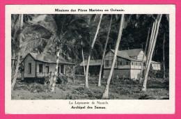 Missions Des Pères Maristes En Océanie - La Léproserie De Nuutele - Archipel Des Samoa - SOUS PROCURE DES MISSIONS - Samoa