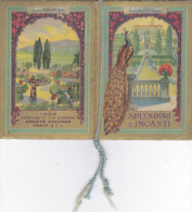 "CALENDARIETTO 1929 ""SPENDORI E INCANTI"" PROFUMATO ""ONDATA AZZURRA RANCE'""    4 SCAN-2-0882-23771-772-773-774 - Petit Format : 1901-20"
