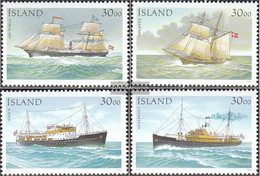 Iceland 753-756 (complete.issue.) Unmounted Mint / Never Hinged 1991 Steamers - 1944-... Republik
