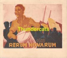RERUM NOVARUM 1937 OOSTENDE OSTENDE - Faire-part