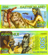 RAPA NUI - ÎLE DE PAQUES - 500 RONGO 2012 EASTER ISLAND - Autres