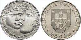 "PORTUGAL  (República)  25 Escudos 1.985  Cu Ni  KM#609 ""International Year Of The Child""  UNCIRCULATED T-DL-11.346 - Portugal"