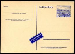 BERLIN P16a  Luftpostkarte ** 1953  Kat. 12,50 € - Postcards - Mint