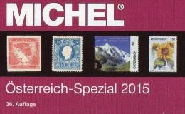 MICHEL Spezial Katalog 2015 Briefmarken Österreich New 62€ Bosnien Lombardei Venetien Special Catalogue Stamp Of Austria - Literatur & Software