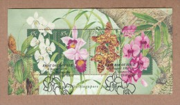 Australia Orchids  - FU Miniature Sheet - Orchideeën
