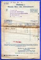 ÖSTERREICH 1939 - Rechnung Elektrizitätswerke Gemeinde Wien, Haushaltstarifliste - Autriche