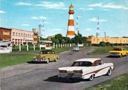 MAR DEL PLATA En TERLEY VISION (Argentinien)  - Faro Punto Mogotes, Old Cars, 1966 - Argentinien