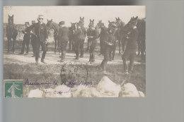 Cpa , ( Voir Chevaux Saumur 1915 Noté Au Bas  ),    Voyagé - Régiments
