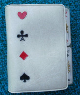 Pochette De 2 Mini Jeux De 52 Cartes (4 Cmx6 Cm) + Joker - Jeux De Société
