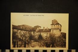 CP, 34, SAINT PONT La Tour Du Comte Pon Ecrite En 1933 - Saint-Pons-de-Thomières