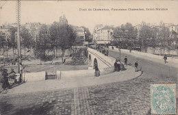 CP CHARENTON 94  VAL DE MARNE PANORAMA SAINT MAURICE - Charenton Le Pont