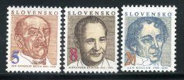 1993 SLOVACCHIA SERIE COMPLETA 3 VALORI NUOVA** - Slovacchia