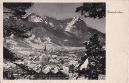 AK Partenkirchen - Panorama - Werbestempel Winterspiele - 1936 (15721) - Garmisch-Partenkirchen