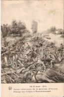 BOORTMEERBEEK (3190) - MILITARIA : 14-16/09/1914 - SORTIE VICTORIEUSE DE LA GARNISON D´ANVERS / CHARGE DES BELGES. - Boortmeerbeek