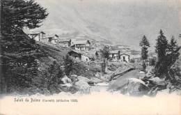 """03532 """"SALUTI DA BALME (CORNETTI) - VALLI DI LANZO - (TO)"""". CART. POSTALE ORIG. NON SPEDITA. - Other Cities"""