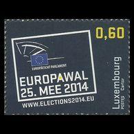 2014 - LUSSEMBURGO / LUXEMBOURG - ELEZIONI PARLAMENTO EUROPEO / EUROPEAN PARLIAMENT ELECTIONS. MNH - Unused Stamps
