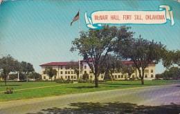 Oklahoma Fort Sill McNair Hall 1972