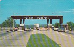 Oklahoma Turner Turnpike Toll Plaza 1964