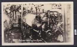+ SUBMARINE ENGINE ROOM, NAVY, FOTO - Boten