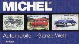 Motiv Katalog Automobile MlCHEL Ganze Welt 2015 neu 64� Automotiv car topic stamps catalogue the world 978-3-95402-118-5