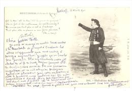 Cp, Folklore, Théodore Botrel, Voyagée 1901 - Personnages