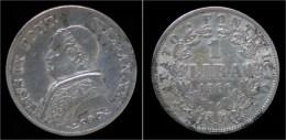 Italy Vatican Ciry 1 Lira 1866R - Vatican