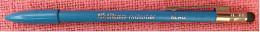 Alter Kugelschreiber : Pelikan Radierbar Blau  -  Mit Radiergummi - Schreibgerät