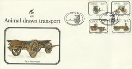 Ciskei 1989 Animal Transport FDC - Ciskei