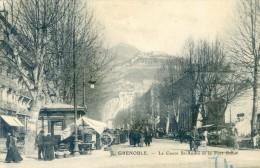 Grenoble - Le Cours St André Et Le Fort Rabot - Grenoble